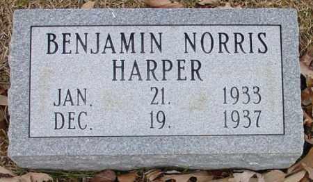 HARPER, BENJAMIN NORRIS - Cleveland County, Arkansas | BENJAMIN NORRIS HARPER - Arkansas Gravestone Photos