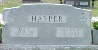 HARPER, BEN O - Cleveland County, Arkansas | BEN O HARPER - Arkansas Gravestone Photos