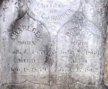 HARPER, CHARLCEY - Cleveland County, Arkansas | CHARLCEY HARPER - Arkansas Gravestone Photos