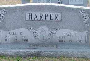 HARPER, DORA HAZEL - Cleveland County, Arkansas | DORA HAZEL HARPER - Arkansas Gravestone Photos