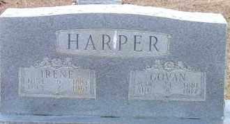 HARPER, ELIZABETH IRENE - Cleveland County, Arkansas | ELIZABETH IRENE HARPER - Arkansas Gravestone Photos