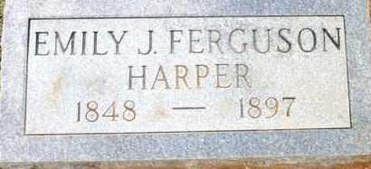 HARPER, EMILY JANE - Cleveland County, Arkansas | EMILY JANE HARPER - Arkansas Gravestone Photos