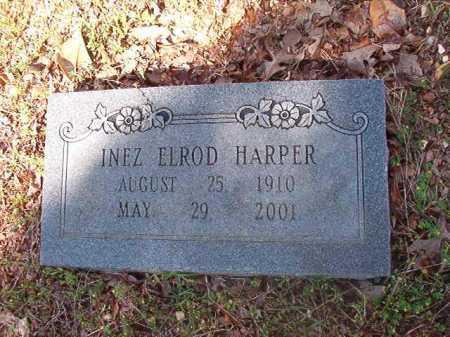 HARPER, INEZ - Cleveland County, Arkansas | INEZ HARPER - Arkansas Gravestone Photos