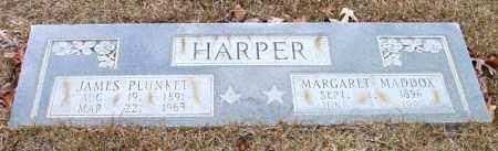 HARPER, JAMES PLUNKET - Cleveland County, Arkansas | JAMES PLUNKET HARPER - Arkansas Gravestone Photos