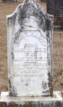 HARPER, JOHN THOMAS - Cleveland County, Arkansas | JOHN THOMAS HARPER - Arkansas Gravestone Photos