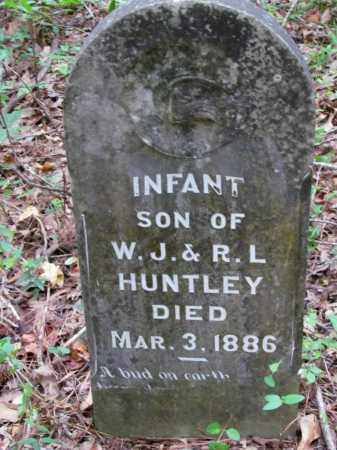 HUNTLEY, INFANT SON - Cleveland County, Arkansas | INFANT SON HUNTLEY - Arkansas Gravestone Photos