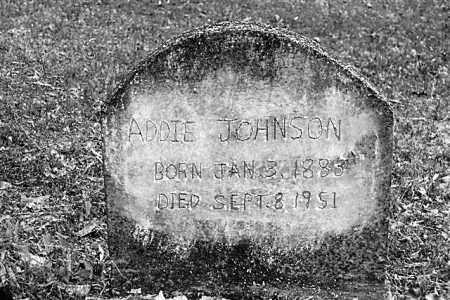 JOHNSON, ADDIE - Cleveland County, Arkansas | ADDIE JOHNSON - Arkansas Gravestone Photos