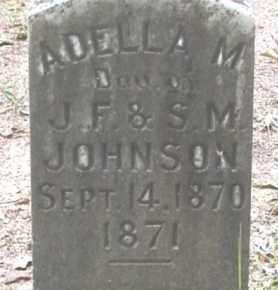 JOHNSON, ADELLA M - Cleveland County, Arkansas   ADELLA M JOHNSON - Arkansas Gravestone Photos