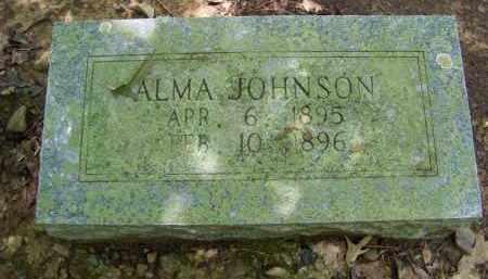 JOHNSON, ALMA - Cleveland County, Arkansas   ALMA JOHNSON - Arkansas Gravestone Photos
