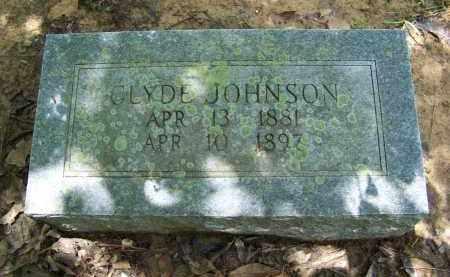JOHNSON, CLYDE - Cleveland County, Arkansas | CLYDE JOHNSON - Arkansas Gravestone Photos