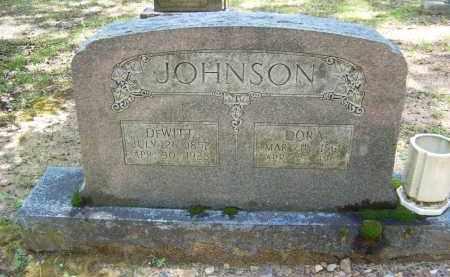 JOHNSON, DORA - Cleveland County, Arkansas   DORA JOHNSON - Arkansas Gravestone Photos