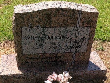 JOHNSON, EMILY L - Cleveland County, Arkansas | EMILY L JOHNSON - Arkansas Gravestone Photos