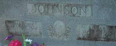 JOHNSON, EDGAR - Cleveland County, Arkansas   EDGAR JOHNSON - Arkansas Gravestone Photos