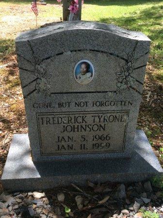 JOHNSON, FREDERICK TYRONE - Cleveland County, Arkansas   FREDERICK TYRONE JOHNSON - Arkansas Gravestone Photos