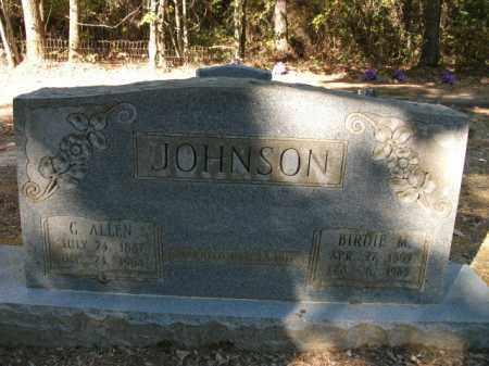 JOHNSON, BIRDIE M - Cleveland County, Arkansas | BIRDIE M JOHNSON - Arkansas Gravestone Photos