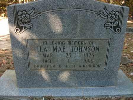 JOHNSON, ILA MAE - Cleveland County, Arkansas   ILA MAE JOHNSON - Arkansas Gravestone Photos