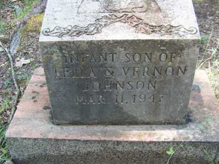 JOHNSON, INFANT SON - Cleveland County, Arkansas | INFANT SON JOHNSON - Arkansas Gravestone Photos