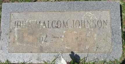 JOHNSON, JOHN MALCOM - Cleveland County, Arkansas | JOHN MALCOM JOHNSON - Arkansas Gravestone Photos