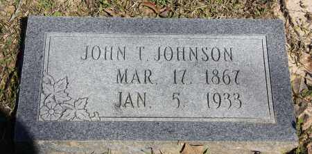 JOHNSON, JOHN T - Cleveland County, Arkansas   JOHN T JOHNSON - Arkansas Gravestone Photos