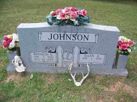 JOHNSON, KENNETH G - Cleveland County, Arkansas   KENNETH G JOHNSON - Arkansas Gravestone Photos