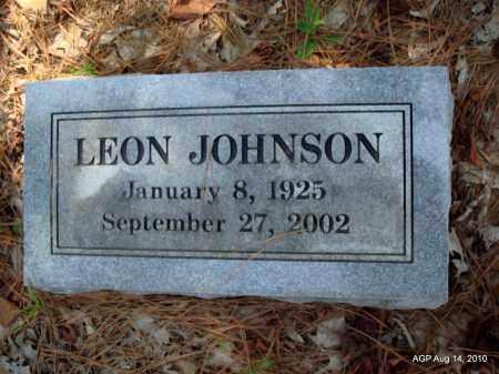 JOHNSON, LEON - Cleveland County, Arkansas | LEON JOHNSON - Arkansas Gravestone Photos