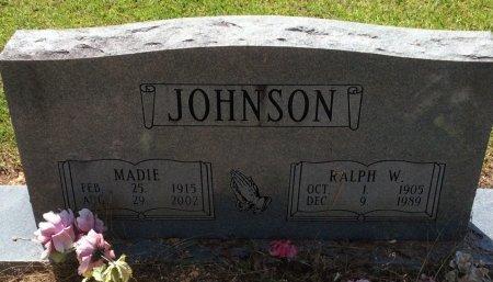 JOHNSON, MADIE - Cleveland County, Arkansas | MADIE JOHNSON - Arkansas Gravestone Photos