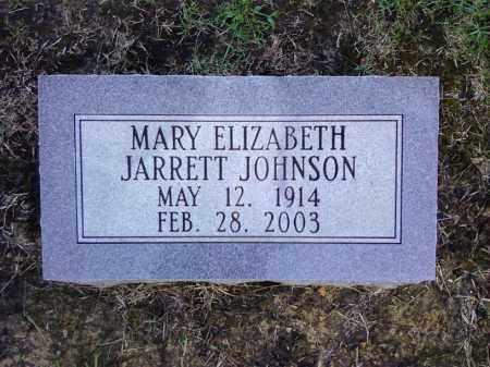 JOHNSON, MARY ELIZABETH - Cleveland County, Arkansas | MARY ELIZABETH JOHNSON - Arkansas Gravestone Photos