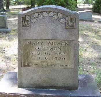 JOHNSON, MARY - Cleveland County, Arkansas   MARY JOHNSON - Arkansas Gravestone Photos