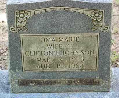 JOHNSON, OMA MARIE - Cleveland County, Arkansas | OMA MARIE JOHNSON - Arkansas Gravestone Photos
