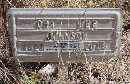 JOHNSON, ORA BEE - Cleveland County, Arkansas   ORA BEE JOHNSON - Arkansas Gravestone Photos