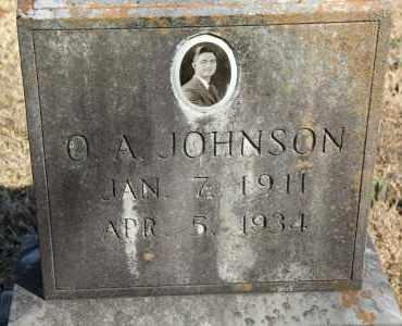 JOHNSON, O A - Cleveland County, Arkansas | O A JOHNSON - Arkansas Gravestone Photos