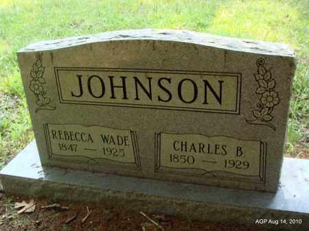 JOHNSON, REBECCA - Cleveland County, Arkansas | REBECCA JOHNSON - Arkansas Gravestone Photos