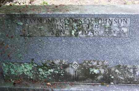 JOHNSON, RAYMOND COOKSEY - Cleveland County, Arkansas | RAYMOND COOKSEY JOHNSON - Arkansas Gravestone Photos