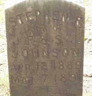 JOHNSON, STEPHEN F - Cleveland County, Arkansas   STEPHEN F JOHNSON - Arkansas Gravestone Photos