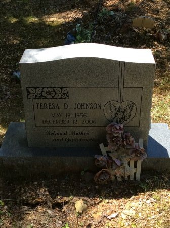 JOHNSON, TERESA D - Cleveland County, Arkansas | TERESA D JOHNSON - Arkansas Gravestone Photos