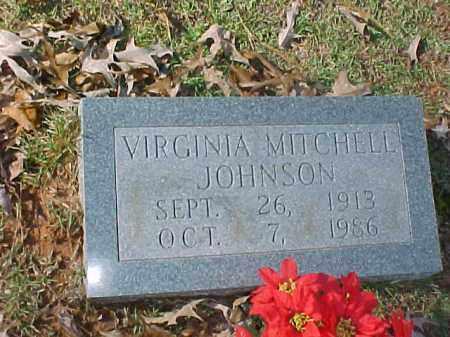 JOHNSON, VIRGINIA - Cleveland County, Arkansas   VIRGINIA JOHNSON - Arkansas Gravestone Photos
