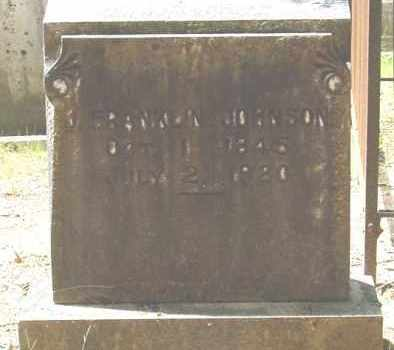 JOHNSON (VETERAN CSA), JESSE FRANKLIN - Cleveland County, Arkansas | JESSE FRANKLIN JOHNSON (VETERAN CSA) - Arkansas Gravestone Photos