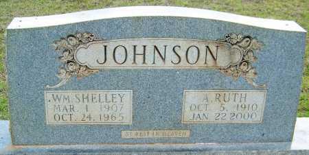 JOHNSON, WILLIAM SHELLEY - Cleveland County, Arkansas | WILLIAM SHELLEY JOHNSON - Arkansas Gravestone Photos