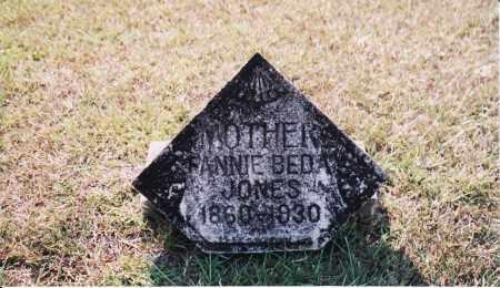 WILLIAMS JONES, FRANCES BEDA - Cleveland County, Arkansas | FRANCES BEDA WILLIAMS JONES - Arkansas Gravestone Photos