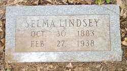 LINDSEY, SELMA - Cleveland County, Arkansas | SELMA LINDSEY - Arkansas Gravestone Photos
