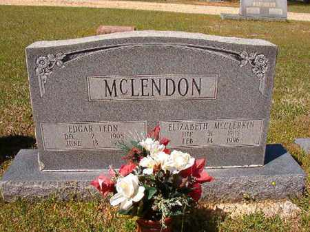 MCLENDON, ELIZABETH - Cleveland County, Arkansas | ELIZABETH MCLENDON - Arkansas Gravestone Photos