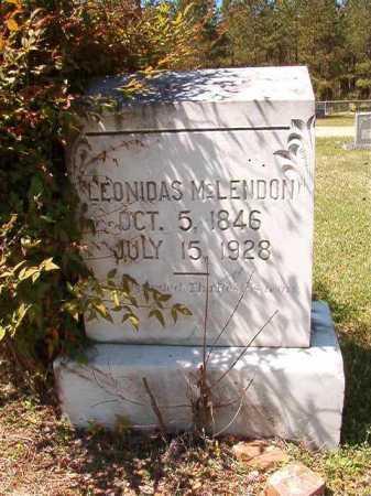 MCLENDON, LEONIDAS - Cleveland County, Arkansas | LEONIDAS MCLENDON - Arkansas Gravestone Photos
