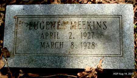 MEEKINS, EUGENE - Cleveland County, Arkansas | EUGENE MEEKINS - Arkansas Gravestone Photos