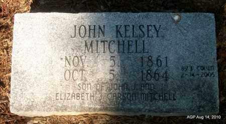 MITCHELL, JOHN KELSEY - Cleveland County, Arkansas | JOHN KELSEY MITCHELL - Arkansas Gravestone Photos