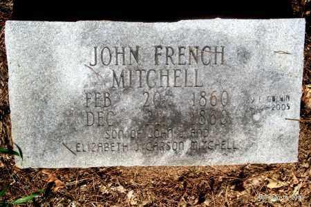 MITCHELL, JOHN FRENCH - Cleveland County, Arkansas | JOHN FRENCH MITCHELL - Arkansas Gravestone Photos