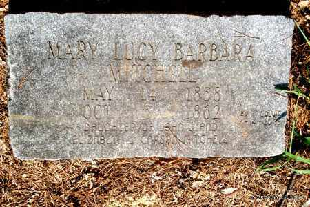 MITCHELL, MARY LUCY BARBARA - Cleveland County, Arkansas | MARY LUCY BARBARA MITCHELL - Arkansas Gravestone Photos