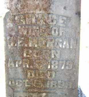 MORGAN, GRACE - Cleveland County, Arkansas   GRACE MORGAN - Arkansas Gravestone Photos