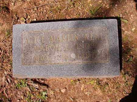 NEAL, ALICE - Cleveland County, Arkansas | ALICE NEAL - Arkansas Gravestone Photos