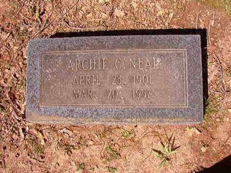 NEAL, ARCHIE C. - Cleveland County, Arkansas   ARCHIE C. NEAL - Arkansas Gravestone Photos