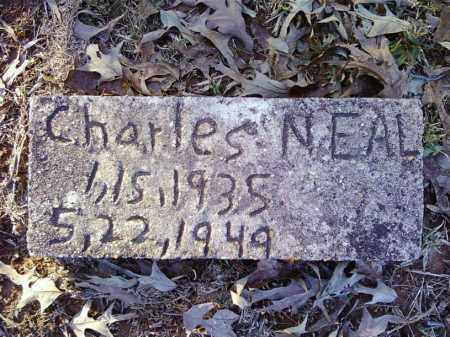 NEAL, CHARLES - Cleveland County, Arkansas   CHARLES NEAL - Arkansas Gravestone Photos